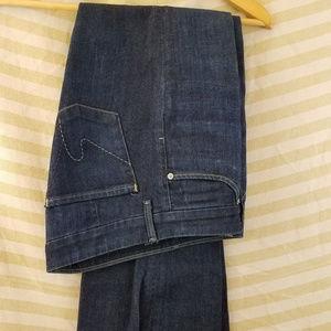 Faye #003 Low Waist Full Leg Size 28 x 32 Jeans